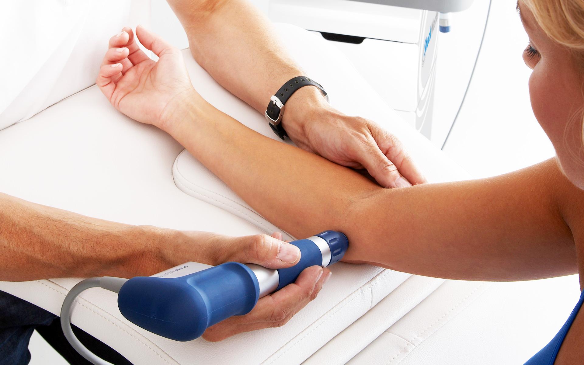 شاک ویو درمانی شاک ویو درمانی - shockwave elbow 1 - شاک ویو درمانی